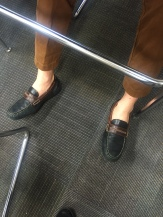 Loafers and ankles