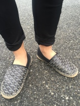 Espadrilles and ankles