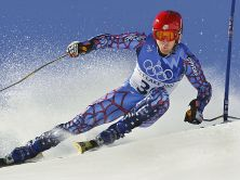 US Thomas Vonn during the men's giant slalom 1st r