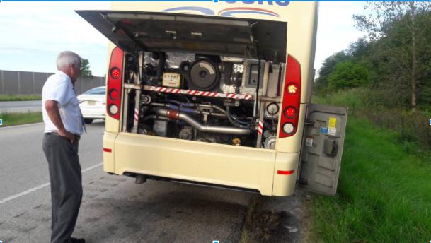 Broken Van