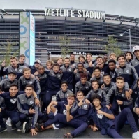 The varsity soccer team recently attended a friendly match between Brazil and the USMNT at Met Life Stadium. (Photo: Black Rock FC)