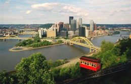 The Pittsburgh skyline