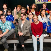 "Scene from ""The 25th Annual Putnam County Spelling Bee,"" directed by Ms. Noel Carmichael. (Photo: Mr. Michael Aldridge)"