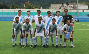 Lucas Farias '20, with the Guatemalan Junior National Team