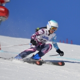 Jaden Klebba '21 at a ski race in 2016 (Photo: NYSEF).