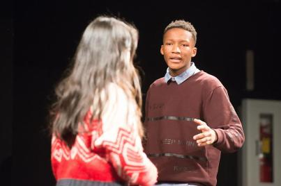 From a recent rehearsal at the Northwood School auditorium (Photo: Mr. Michael Aldridge)