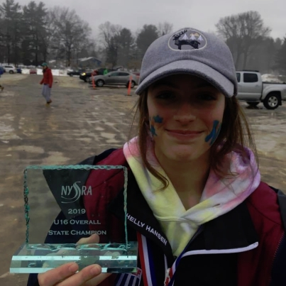 Maddie Kostoss '21 is the New York State U16 Overall Champion.