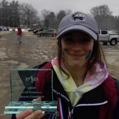 Maddie Kostoss '21 is the New York State U16 Overall Champion.