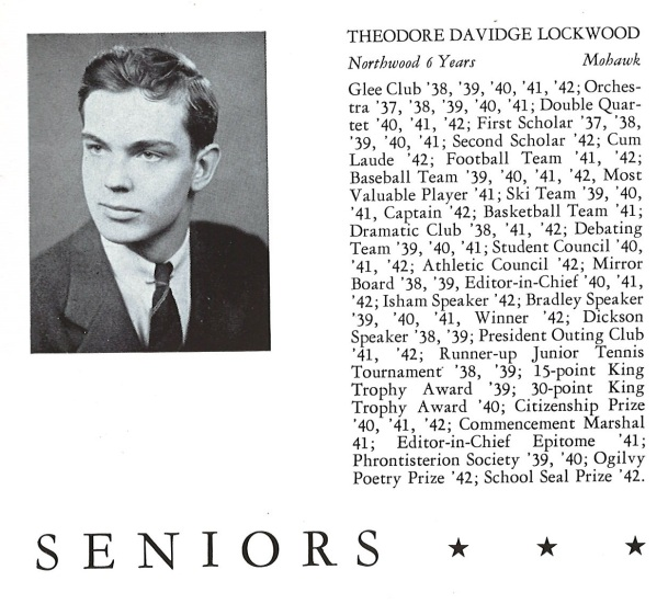 Ted Senior Portrait 1942