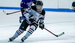 Manhattanville forward Nicole Mensi '15 (Photo: Manhattanville Athletics).